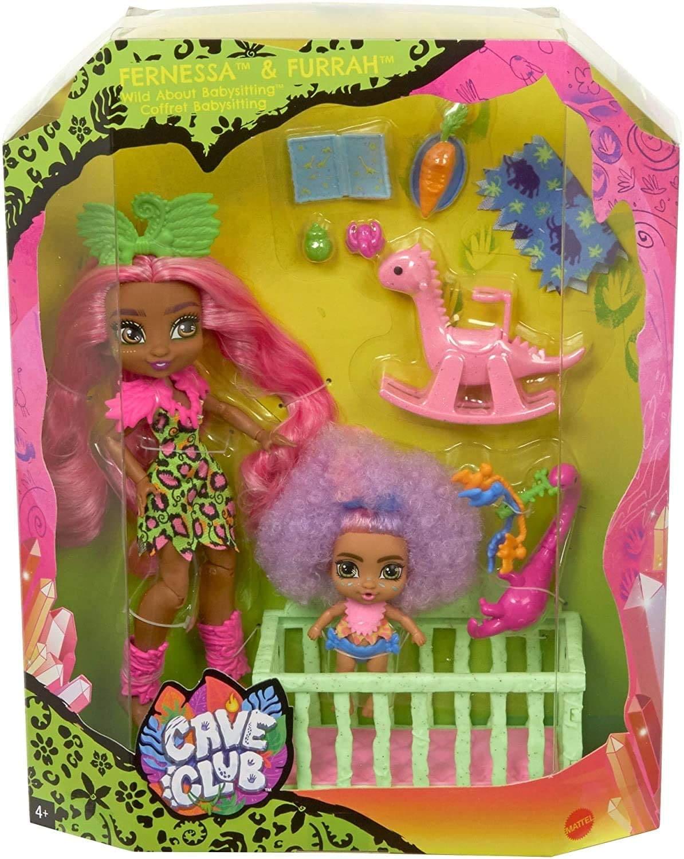 coffret babysitting Fernessa poupée cave club